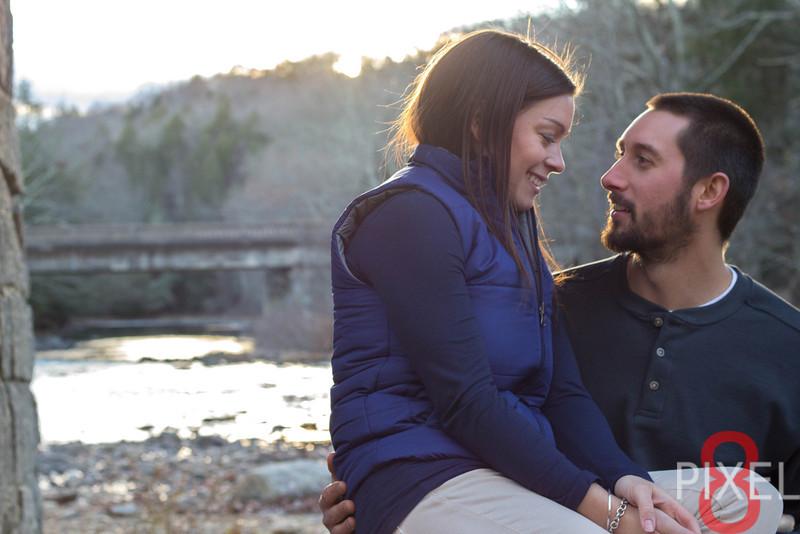 Dan & Lindsay LeBlanc's Engagement Photos